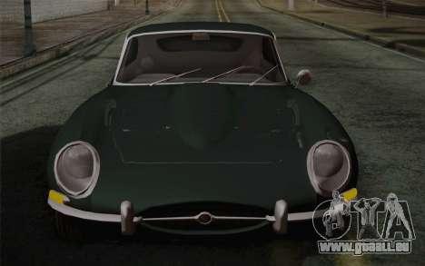 Jaguar E-Type 4.2 für GTA San Andreas Unteransicht