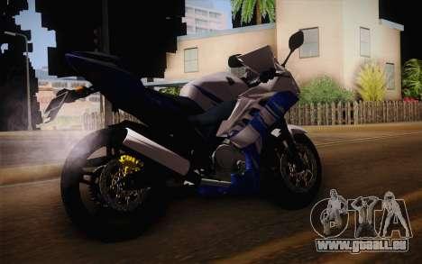 Yamaha YZF R15 pour GTA San Andreas laissé vue