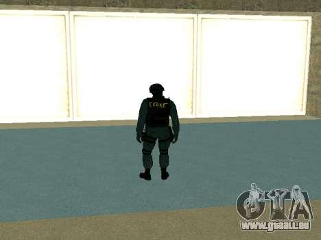 Haut SOBR für GTA San Andreas zweiten Screenshot