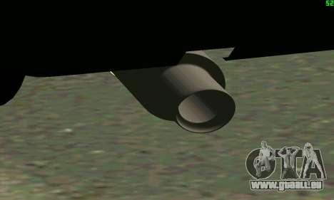 VAZ 2108 Turbo für GTA San Andreas Innenansicht