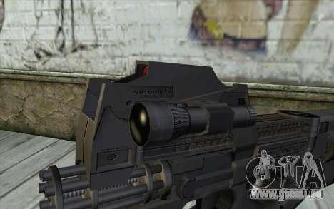 FN P90 MkII pour GTA San Andreas troisième écran