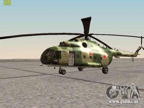 Mi-8T für GTA San Andreas