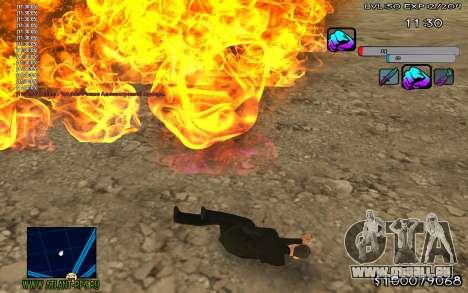 C-HUD Color für GTA San Andreas zweiten Screenshot