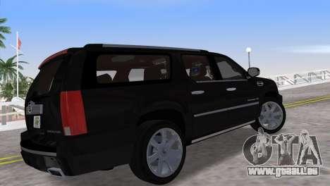 Cadillac Escalade ESV Luxury 2012 für GTA Vice City linke Ansicht