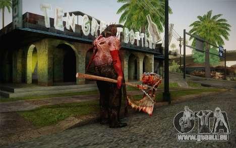 Henker (Resident Evil 5) für GTA San Andreas zweiten Screenshot