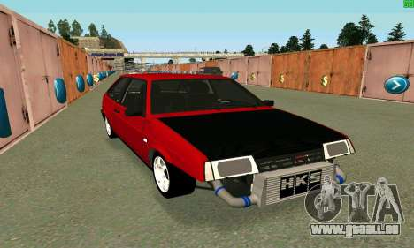 VAZ 2108 Turbo pour GTA San Andreas
