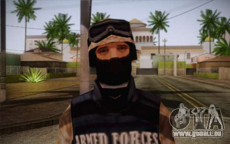 SWAT Desert Camo pour GTA San Andreas troisième écran