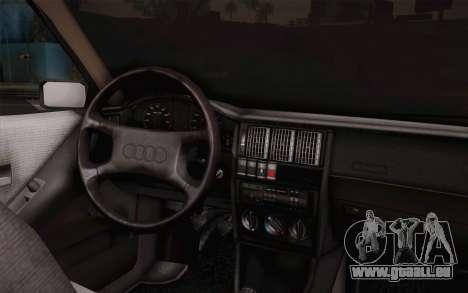 Audi 80 B3 v1.0 pour GTA San Andreas sur la vue arrière gauche