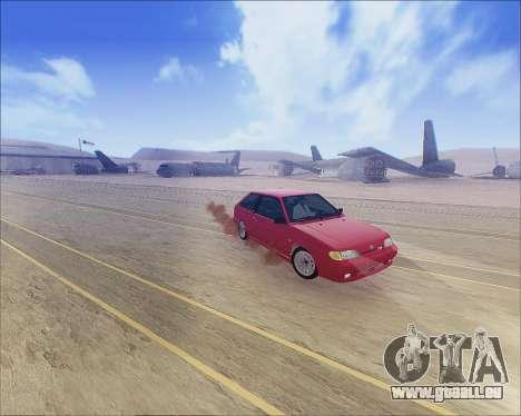 VAZ 2112 Accordables pour GTA San Andreas laissé vue