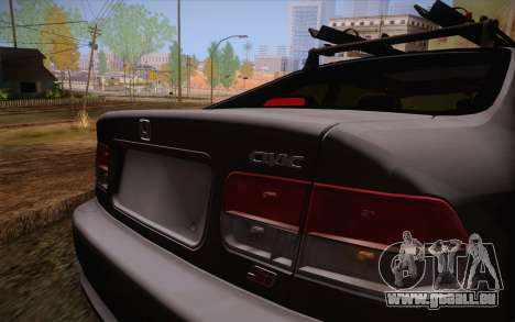 Honda Civic 1999 pour GTA San Andreas vue intérieure