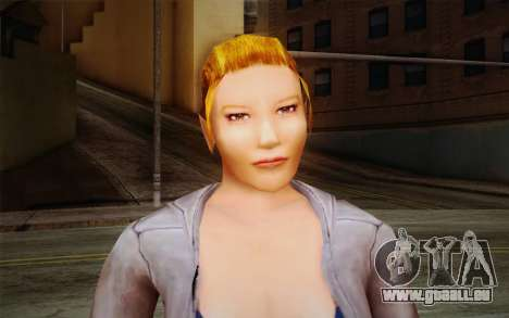 Woman Autoracer from FlatOut v2 für GTA San Andreas dritten Screenshot