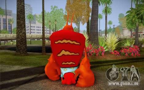Larry Der HUMMER (Spongebob) für GTA San Andreas zweiten Screenshot