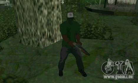 Les nouvelles fonctionnalités d'armes pour GTA San Andreas troisième écran