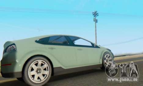 Cheval Surge V1.0 pour GTA San Andreas vue arrière
