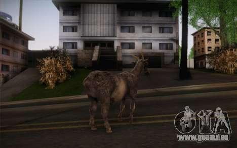 Chèvre pour GTA San Andreas