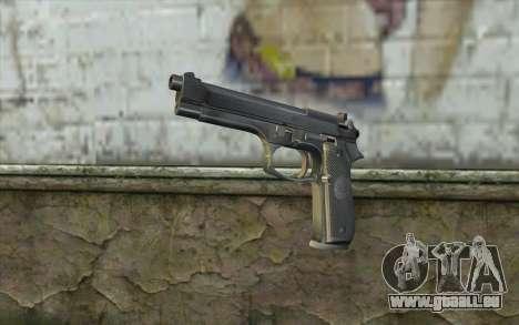 Police Beretta 92 für GTA San Andreas