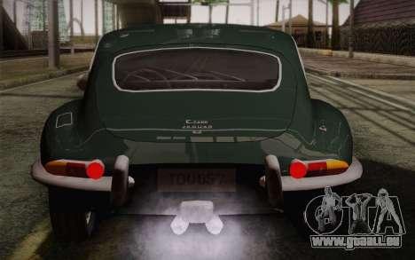 Jaguar E-Type 4.2 für GTA San Andreas Motor