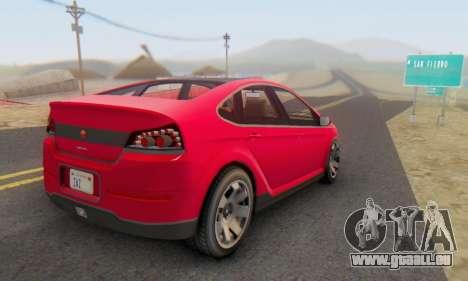 Cheval Surge V1.0 pour GTA San Andreas laissé vue
