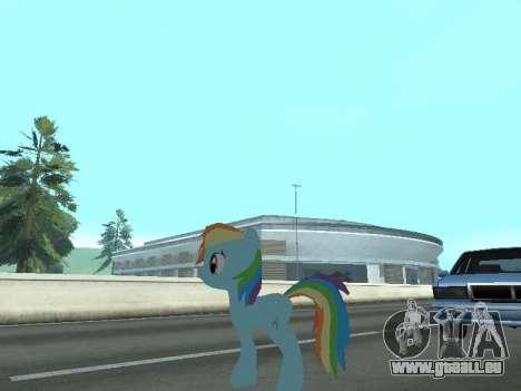 Rainbow Dash für GTA San Andreas siebten Screenshot