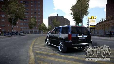 Cadillac Escalade für GTA 4 rechte Ansicht
