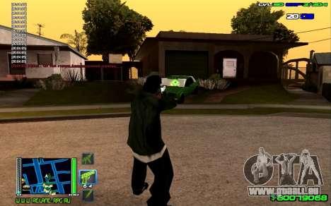 C-HUD Optimal pour GTA San Andreas deuxième écran
