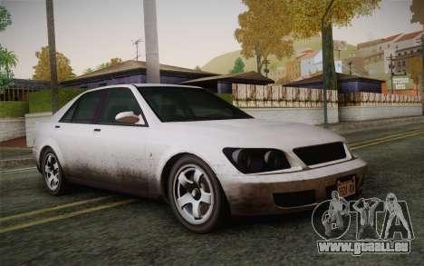 Sultan из GTA 5 pour GTA San Andreas
