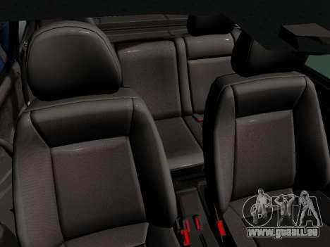 VAZ-21099 für GTA San Andreas Rückansicht