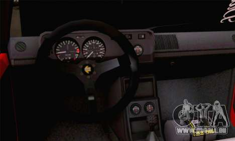 Volkswagen Golf Mk I 1978 pour GTA San Andreas sur la vue arrière gauche