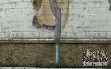 Le vieux couteau de cuisine pour GTA San Andreas