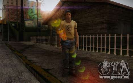 Ellis from Left 4 Dead 2 pour GTA San Andreas