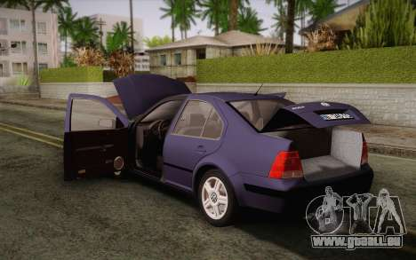 Volkswagen Bora für GTA San Andreas rechten Ansicht