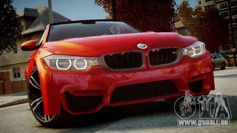BMW M4 Coupe 2014 v1.0 pour GTA 4