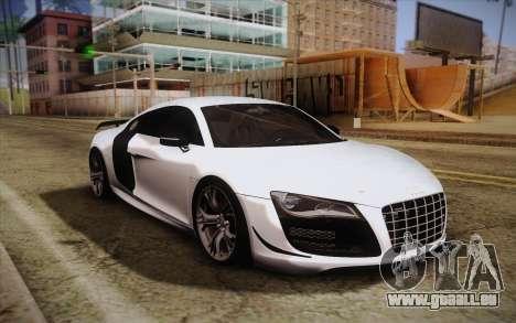 Audi R8 GT 2012 für GTA San Andreas