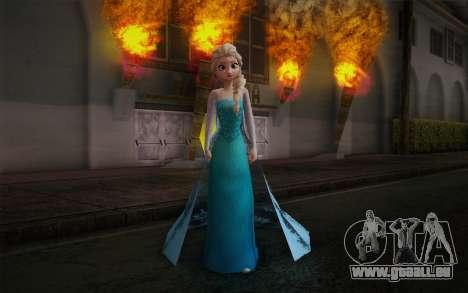Frozen Elsa für GTA San Andreas