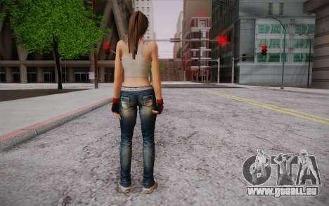 Hitomi из Mort ou Vivant pour GTA San Andreas deuxième écran