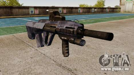 Автомат Steyr AUG A3 Optik Blue Camo für GTA 4