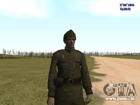 USSR Soldier Pack für GTA San Andreas siebten Screenshot