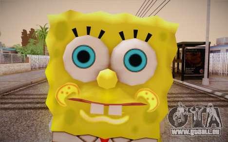 Sponge Bob für GTA San Andreas dritten Screenshot