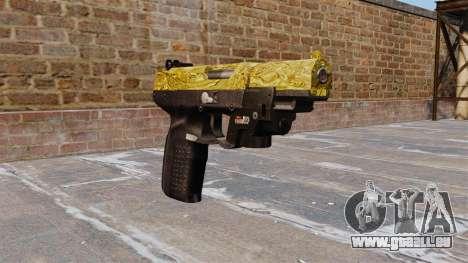 Pistolet FN Cinq sept d'Or LAM pour GTA 4