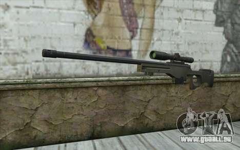 Arctic Warfare Super Magnum L115A1 für GTA San Andreas