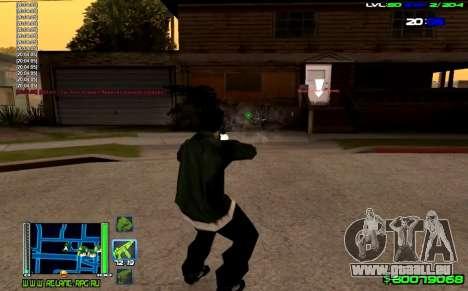 C-HUD Optimal pour GTA San Andreas troisième écran