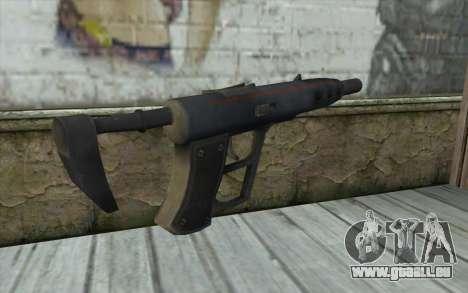 Sten 2041 SMG für GTA San Andreas zweiten Screenshot