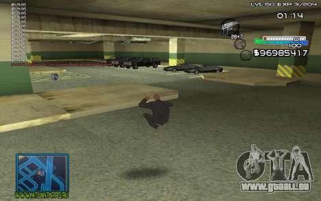 С-HUD von SteelMan für GTA San Andreas zweiten Screenshot