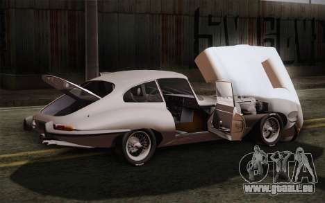 Jaguar E-Type 4.2 für GTA San Andreas obere Ansicht