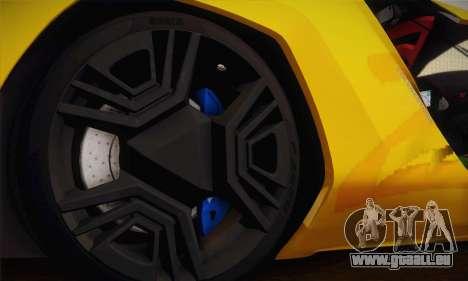 Bertone Mantide World Brasil 2010 pour GTA San Andreas vue de côté