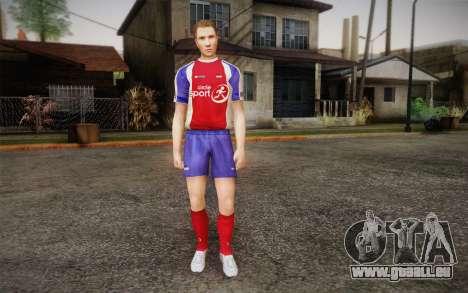 Footballeur pour GTA San Andreas