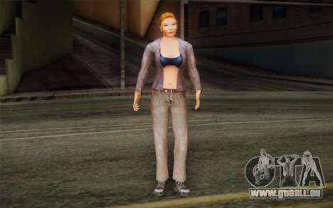 Woman Autoracer from FlatOut v2 für GTA San Andreas