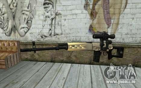 SVD Scharfschützengewehr für GTA San Andreas