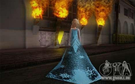 Frozen Elsa pour GTA San Andreas deuxième écran
