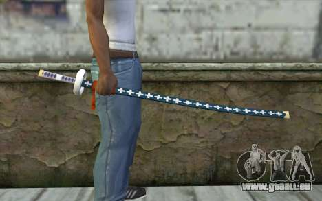 One Piece Sword Trafalgar Law für GTA San Andreas dritten Screenshot